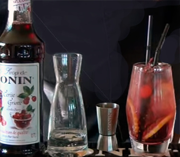 Morello Cherry Gin & Tonic